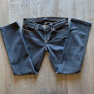 J.Brand Jeans Cigarette Leg 914 BLK Size 28
